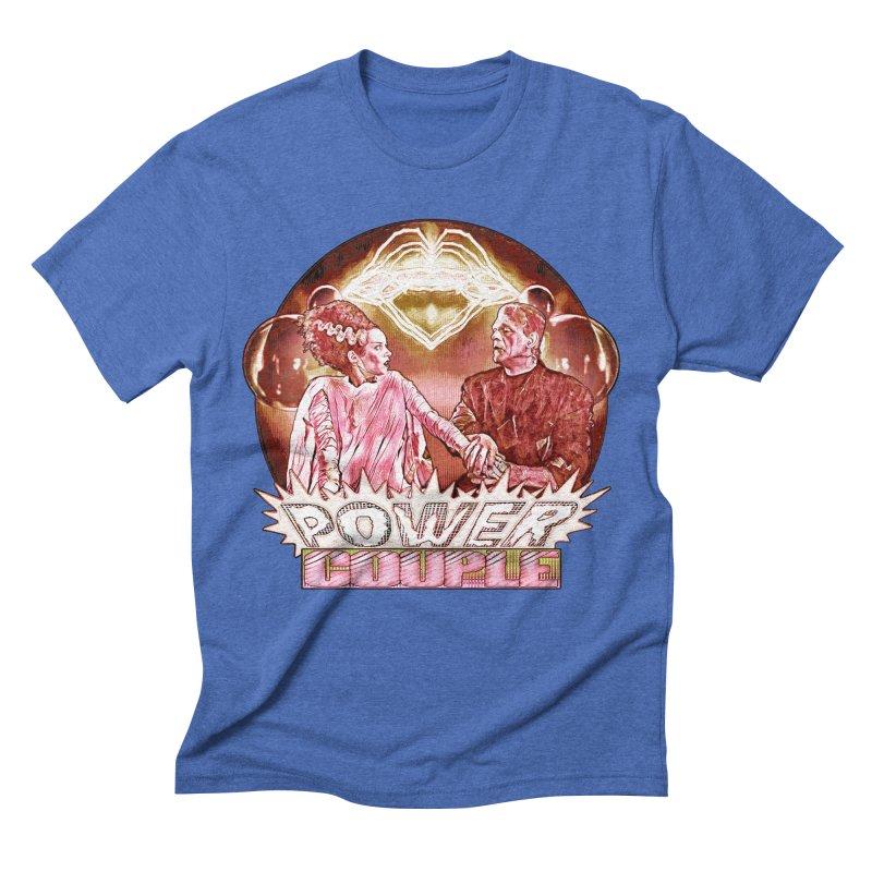 The Original Power Couple Men's Triblend T-shirt by Jason Henricks' Artist Shop