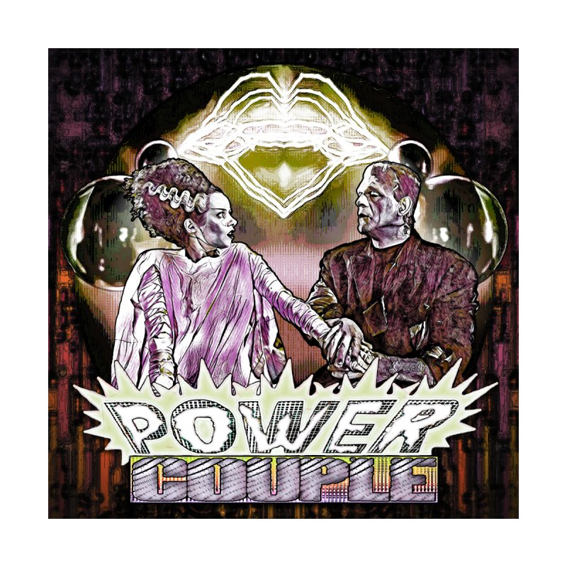 Power Couple- Version 1 Home Framed Fine Art Print by Jason Henricks' Artist Shop