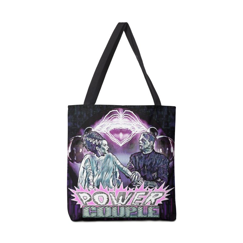 Power Couple- Version 2 Accessories Bag by Jason Henricks' Artist Shop