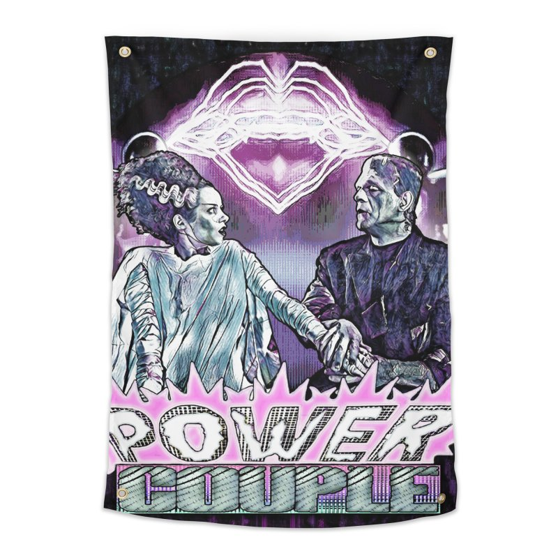 Power Couple- Version 2 Home Tapestry by Jason Henricks' Artist Shop