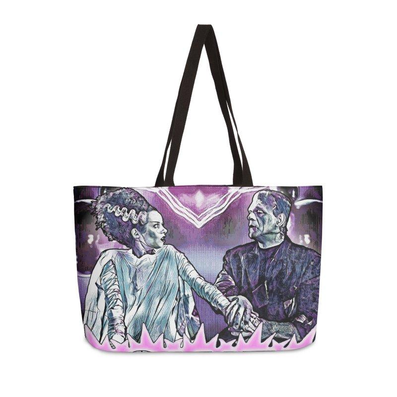 Power Couple- Version 2 Accessories Bag by Jason Henricks' Artist Shop