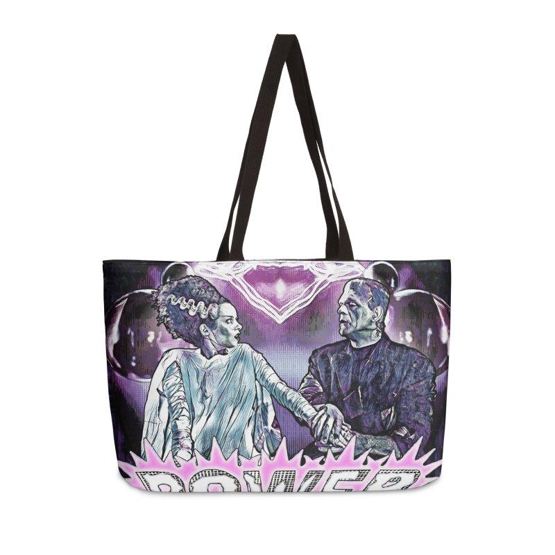 Power Couple- Version 2 in Weekender Bag by Jason Henricks' Artist Shop