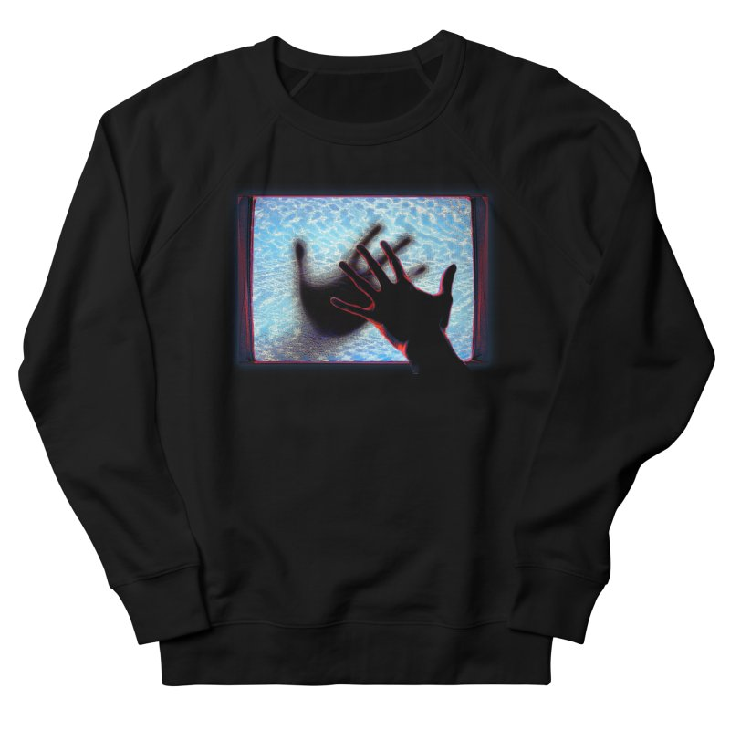 Static Women's Sweatshirt by Jason Henricks' Artist Shop