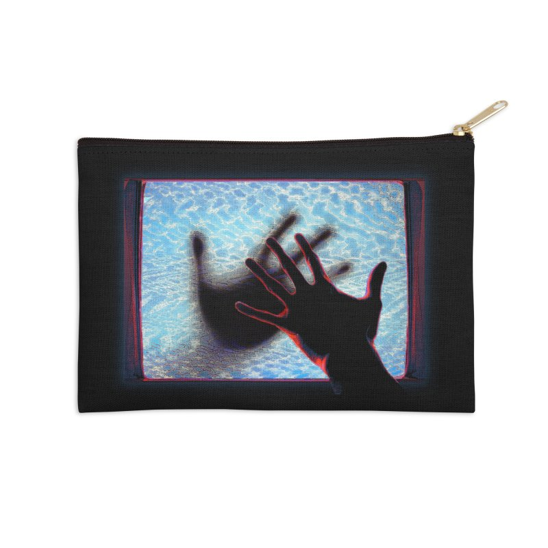 Static Accessories Zip Pouch by Jason Henricks' Artist Shop