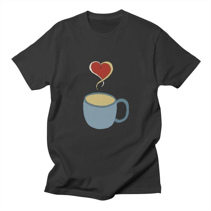 Coffee Love Men's T-shirt by JiggyTheGeek's Artist Shop