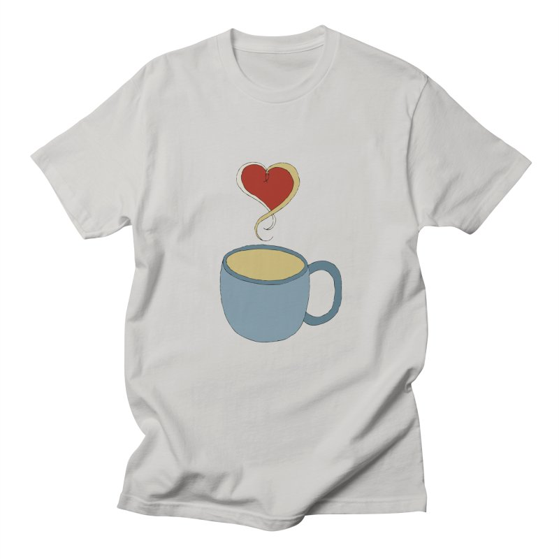 Coffee Love Men's T-Shirt by JiggyTheGeek's Artist Shop