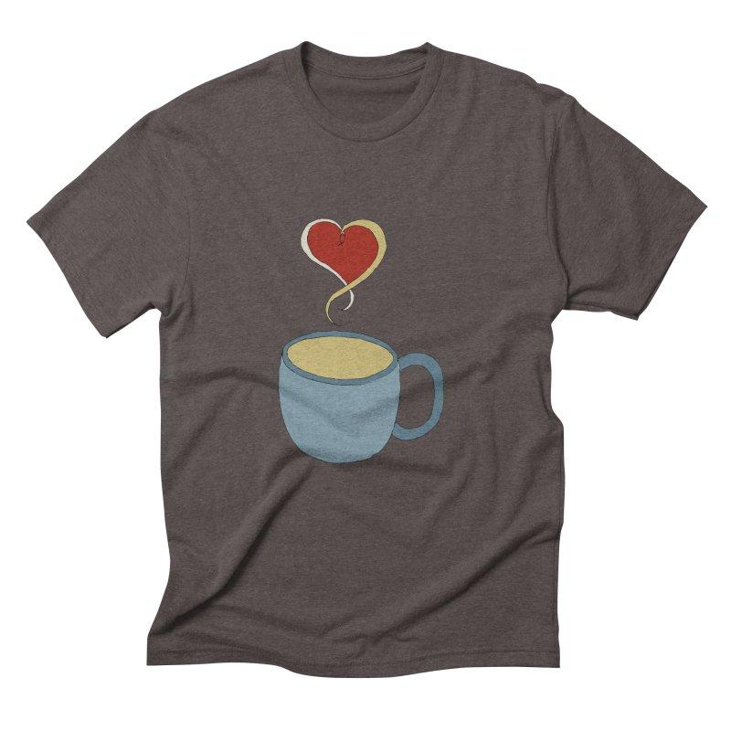 Coffee Love Men's Triblend T-Shirt by JiggyTheGeek's Artist Shop