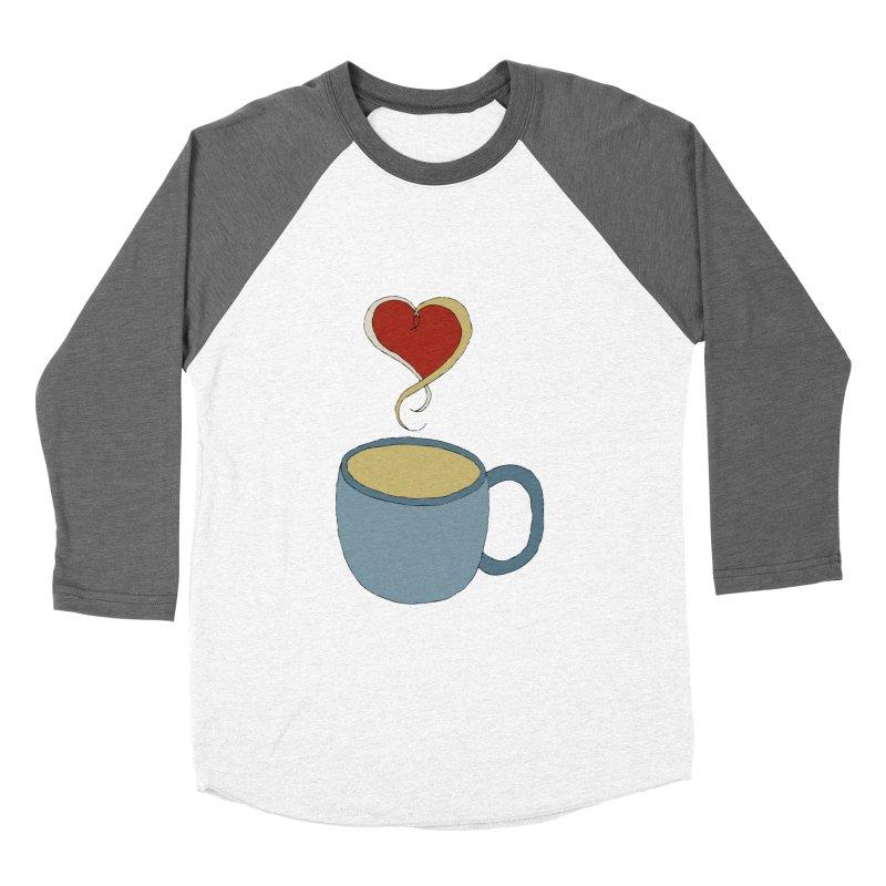 Coffee Love Men's Baseball Triblend T-Shirt by JiggyTheGeek's Artist Shop