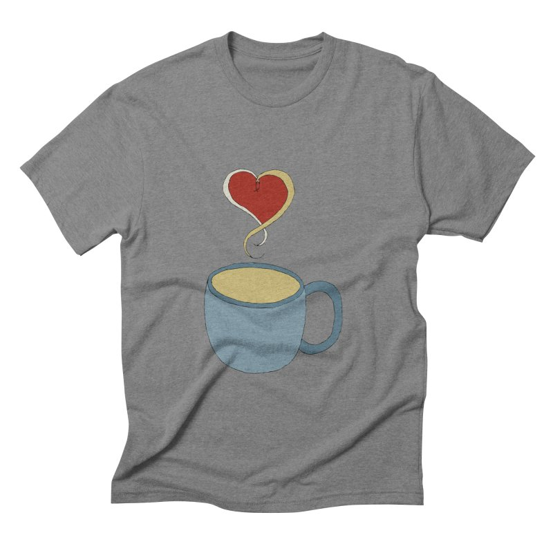 Coffee Love Men's Triblend T-shirt by JiggyTheGeek's Artist Shop