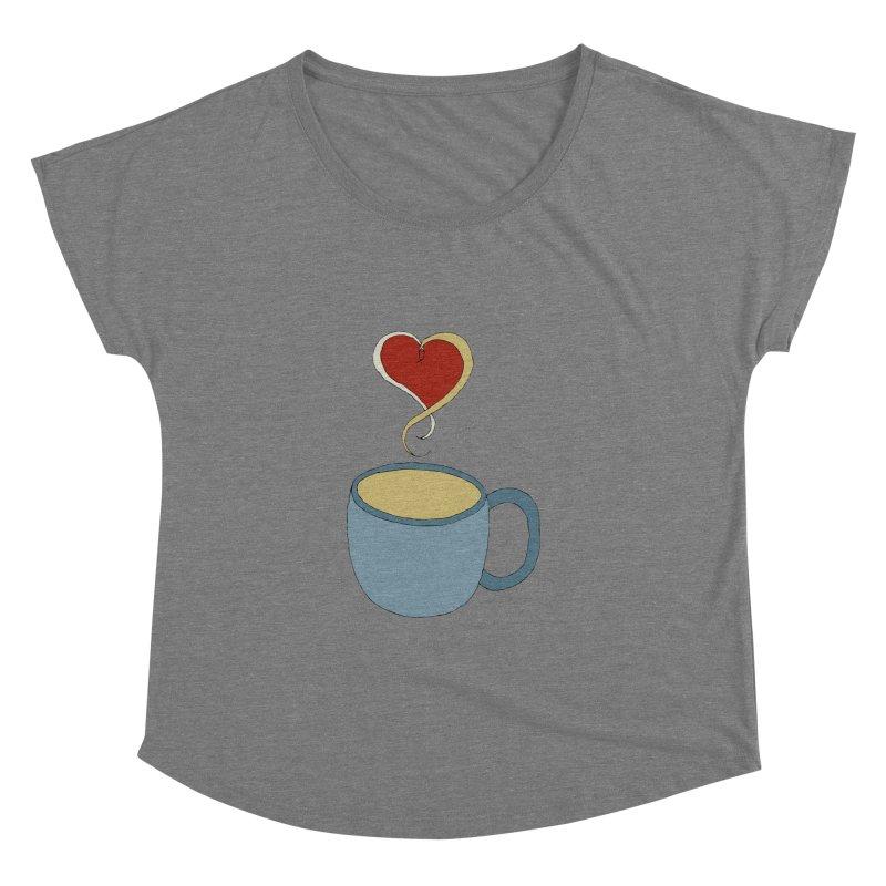 Coffee Love Women's Dolman by JiggyTheGeek's Artist Shop