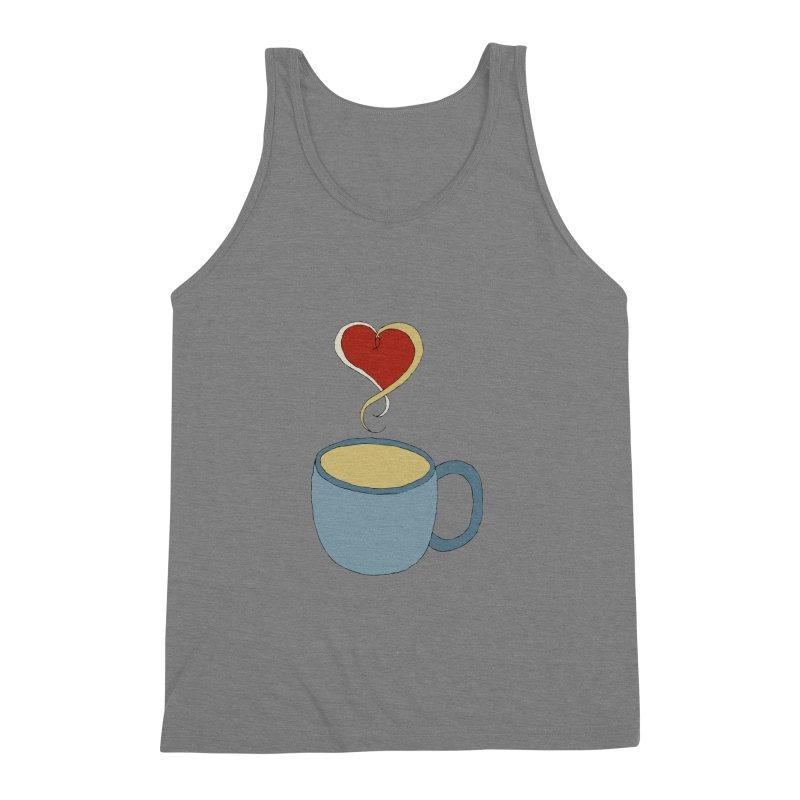 Coffee Love Men's Triblend Tank by JiggyTheGeek's Artist Shop