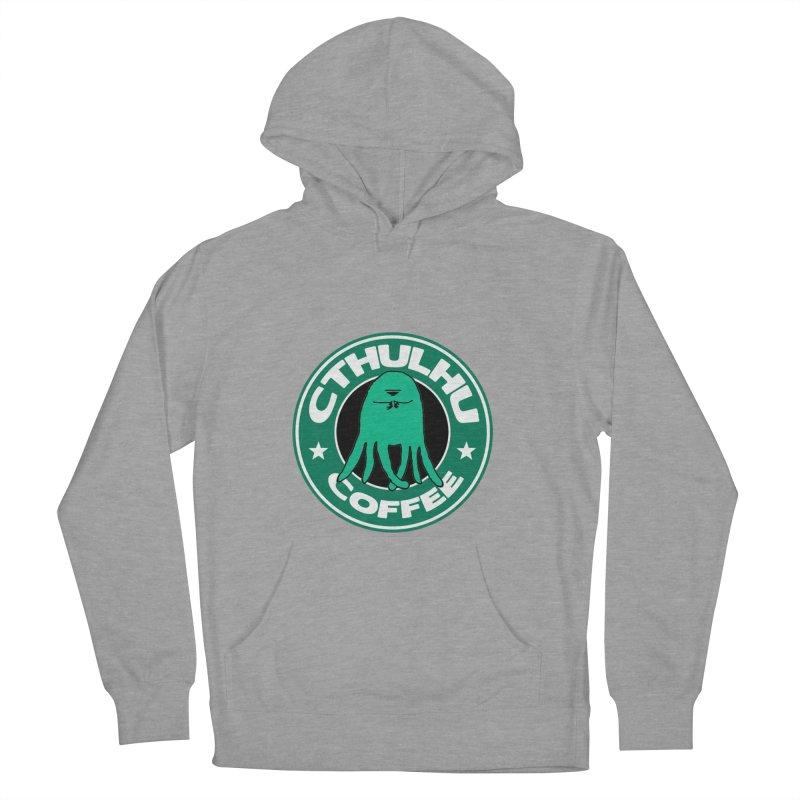 Cthulhu Coffee Men's Pullover Hoody by JiggyTheGeek's Artist Shop