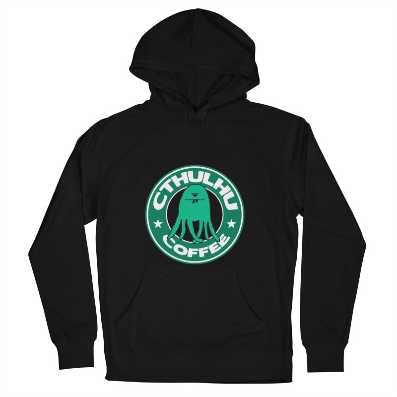 Cthulhu Coffee Men's Pullover Hoody by JiggyTheGeek's Artist Shop