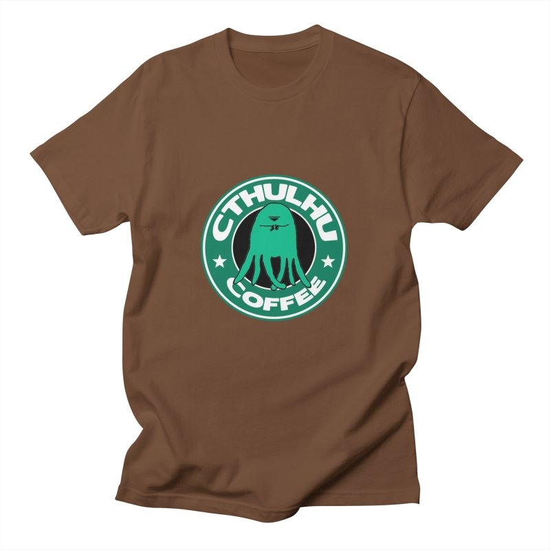 Cthulhu Coffee Men's T-shirt by JiggyTheGeek's Artist Shop