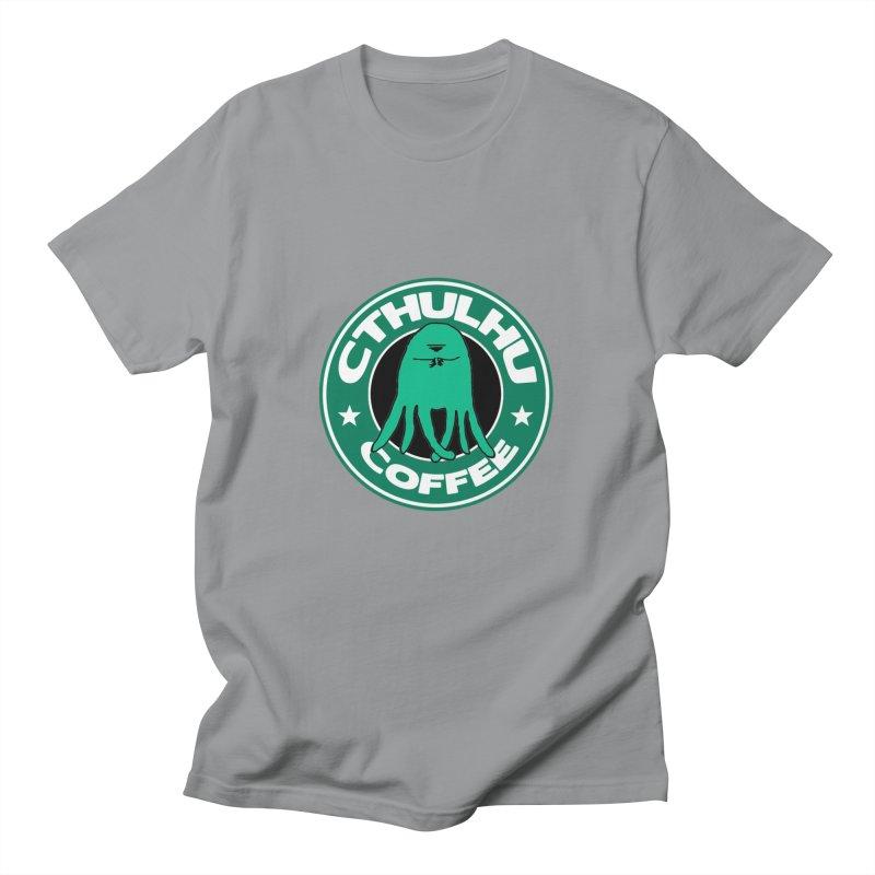 Cthulhu Coffee Men's T-Shirt by JiggyTheGeek's Artist Shop