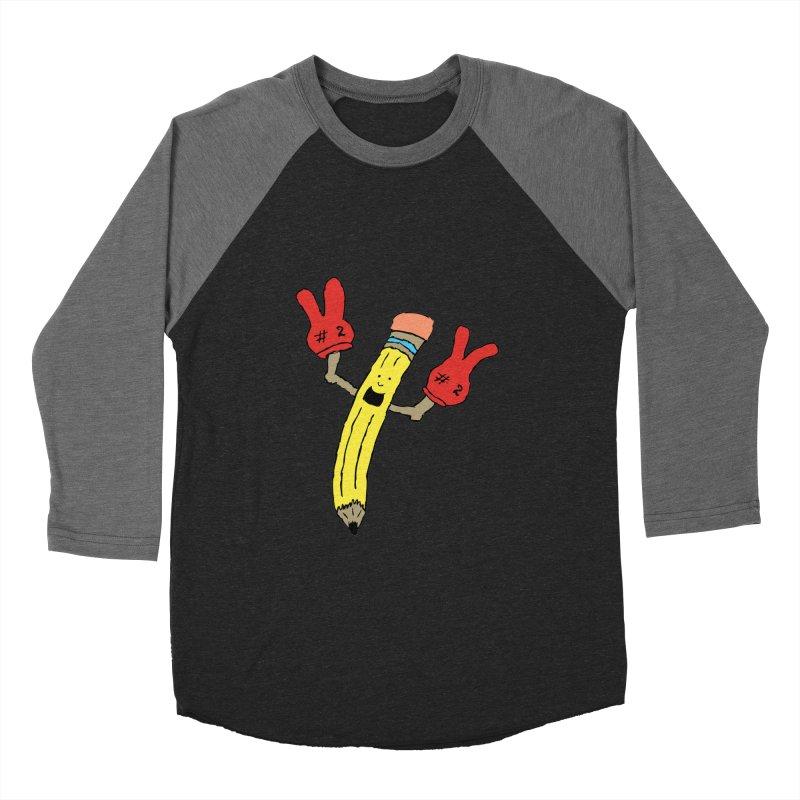 Proud to be Number Two Men's Baseball Triblend T-Shirt by JiggyTheGeek's Artist Shop