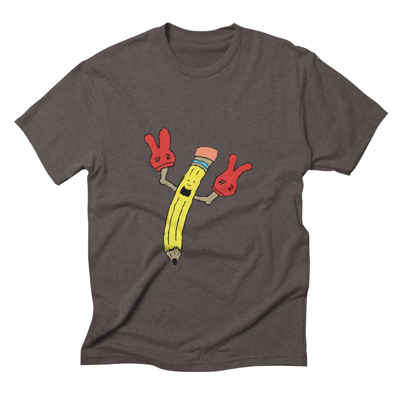 Proud to be Number Two Men's Triblend T-shirt by JiggyTheGeek's Artist Shop