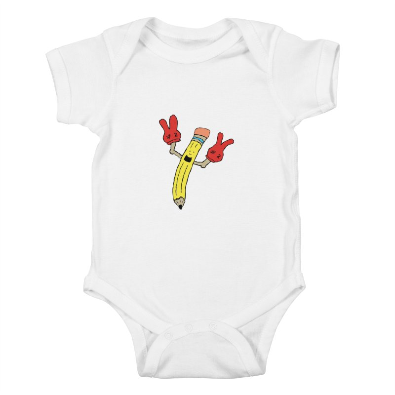 Proud to be Number Two Kids Baby Bodysuit by JiggyTheGeek's Artist Shop