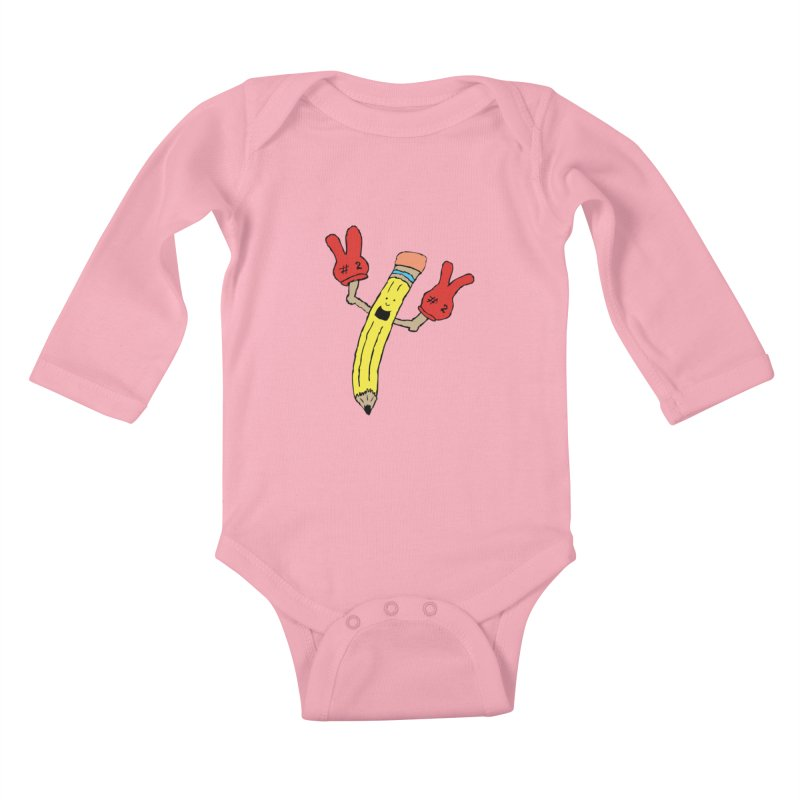 Proud to be Number Two Kids Baby Longsleeve Bodysuit by JiggyTheGeek's Artist Shop