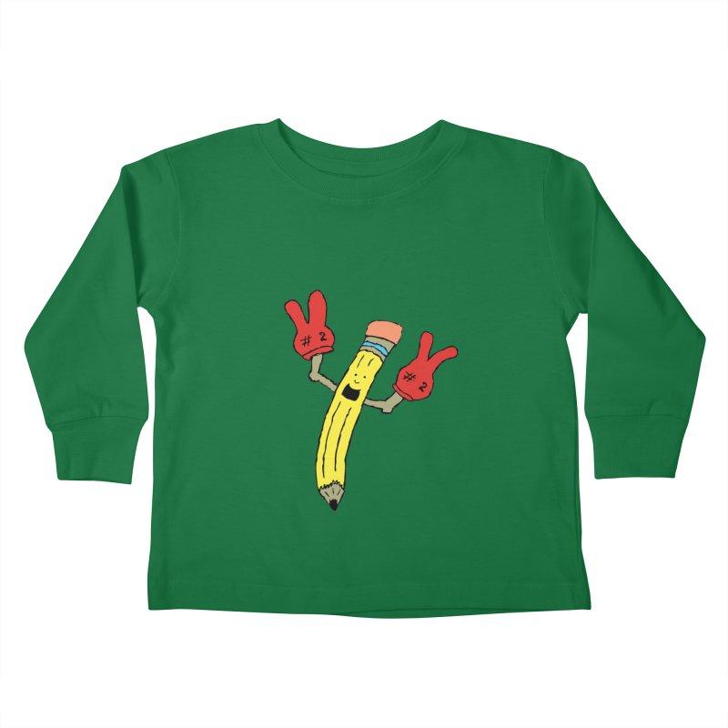 Proud to be Number Two Kids Toddler Longsleeve T-Shirt by JiggyTheGeek's Artist Shop