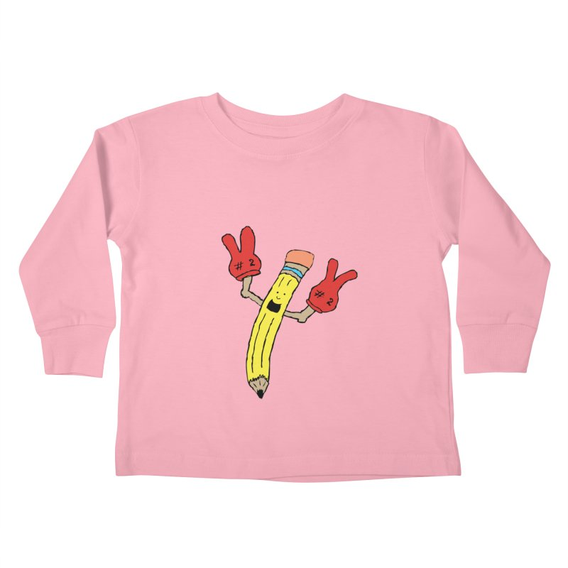 Proud to be Number Two Kids Toddler Longsleeve T-Shirt by JiggyTheGeek's Artist Shop