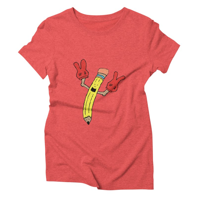 Proud to be Number Two Women's Triblend T-Shirt by JiggyTheGeek's Artist Shop
