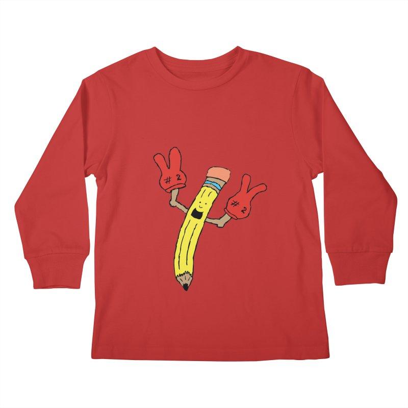 Proud to be Number Two Kids Longsleeve T-Shirt by JiggyTheGeek's Artist Shop
