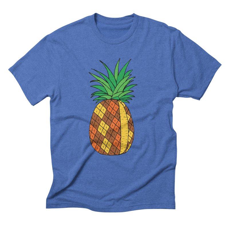 Fashionable Fruit Men's Triblend T-Shirt by JiggyTheGeek's Artist Shop