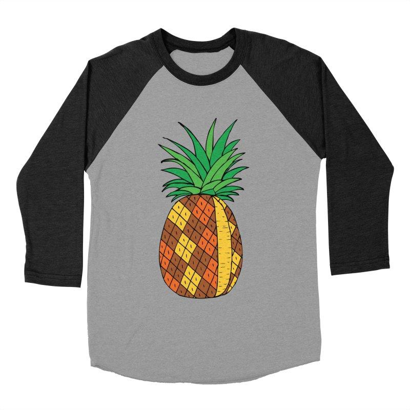 Fashionable Fruit Men's Baseball Triblend T-Shirt by JiggyTheGeek's Artist Shop