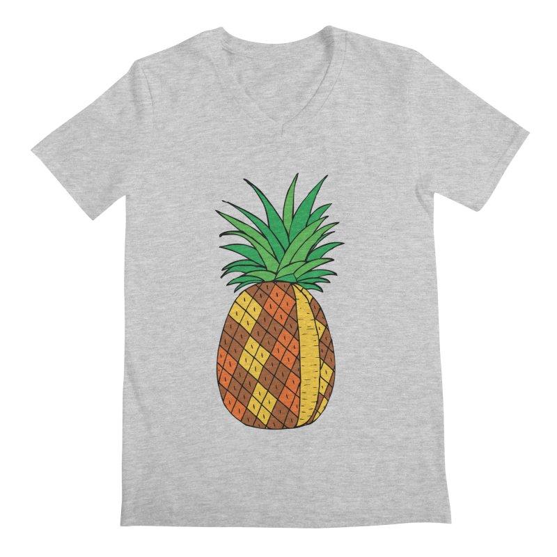 Fashionable Fruit Men's V-Neck by JiggyTheGeek's Artist Shop
