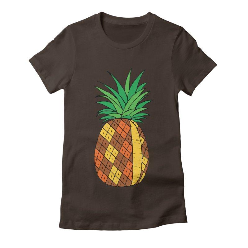 Fashionable Fruit Women's Fitted T-Shirt by JiggyTheGeek's Artist Shop
