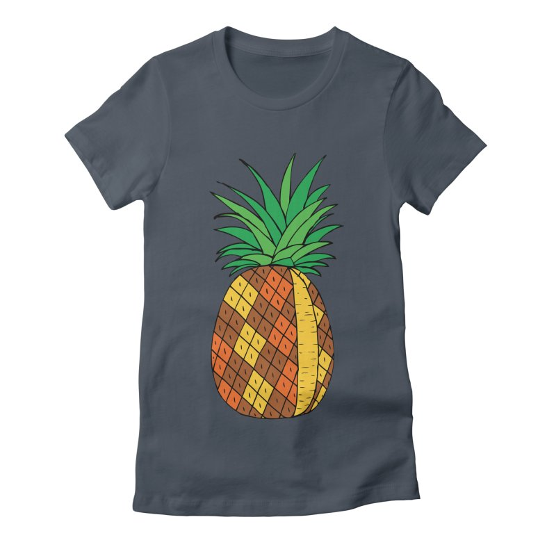 Fashionable Fruit Women's Fitted T-Shirt by JiggyTheGeek's Artist Shop