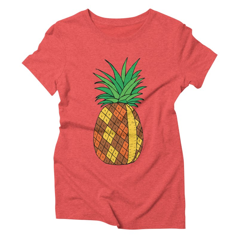 Fashionable Fruit Women's Triblend T-Shirt by JiggyTheGeek's Artist Shop