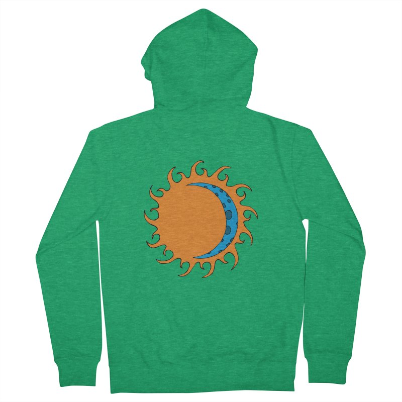 Sun & Moon Women's Zip-Up Hoody by JiggyTheGeek's Artist Shop