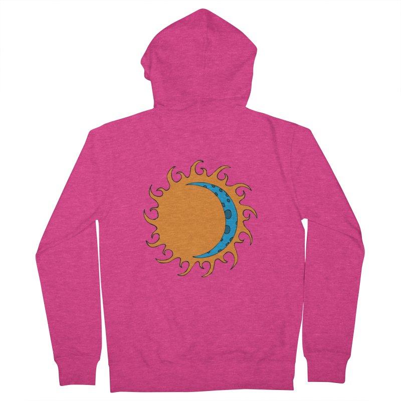 Sun & Moon Women's Zip-Up Hoody by JiggyTheGeek's Artist Shop