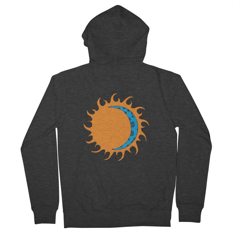 Sun & Moon Men's Zip-Up Hoody by JiggyTheGeek's Artist Shop