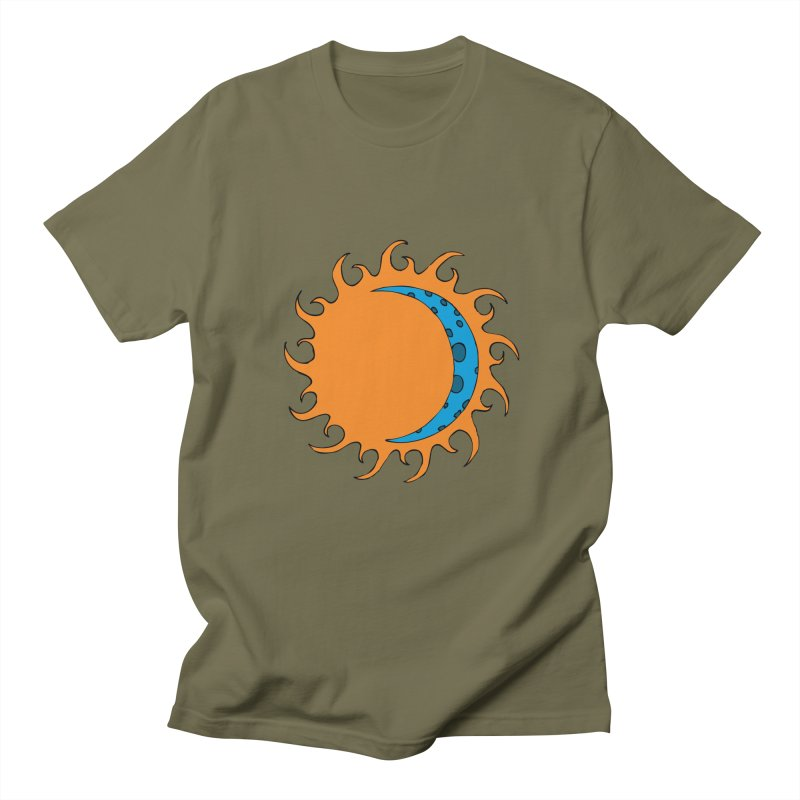 Sun & Moon Men's T-Shirt by JiggyTheGeek's Artist Shop