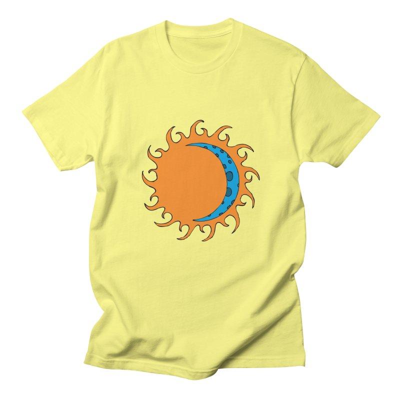 Sun & Moon Men's T-Shirt by JiggyTheGeek's Artist Shop