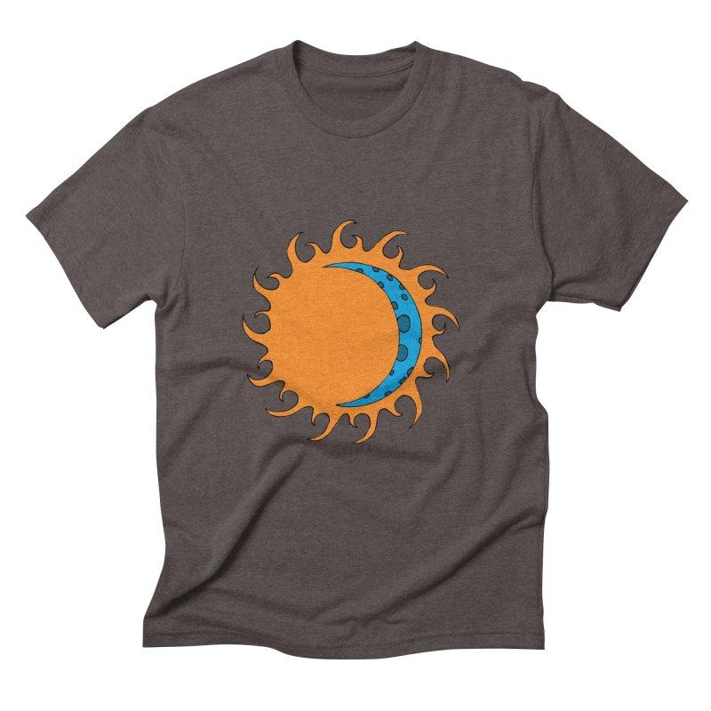 Sun & Moon Men's Triblend T-Shirt by JiggyTheGeek's Artist Shop