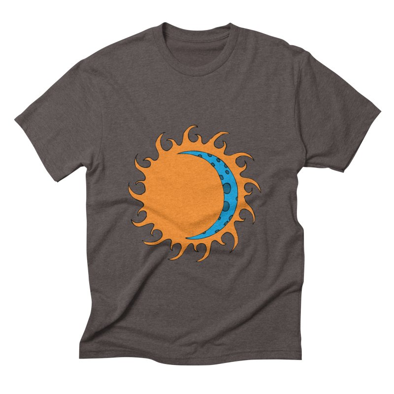 Sun & Moon Men's Triblend T-shirt by JiggyTheGeek's Artist Shop