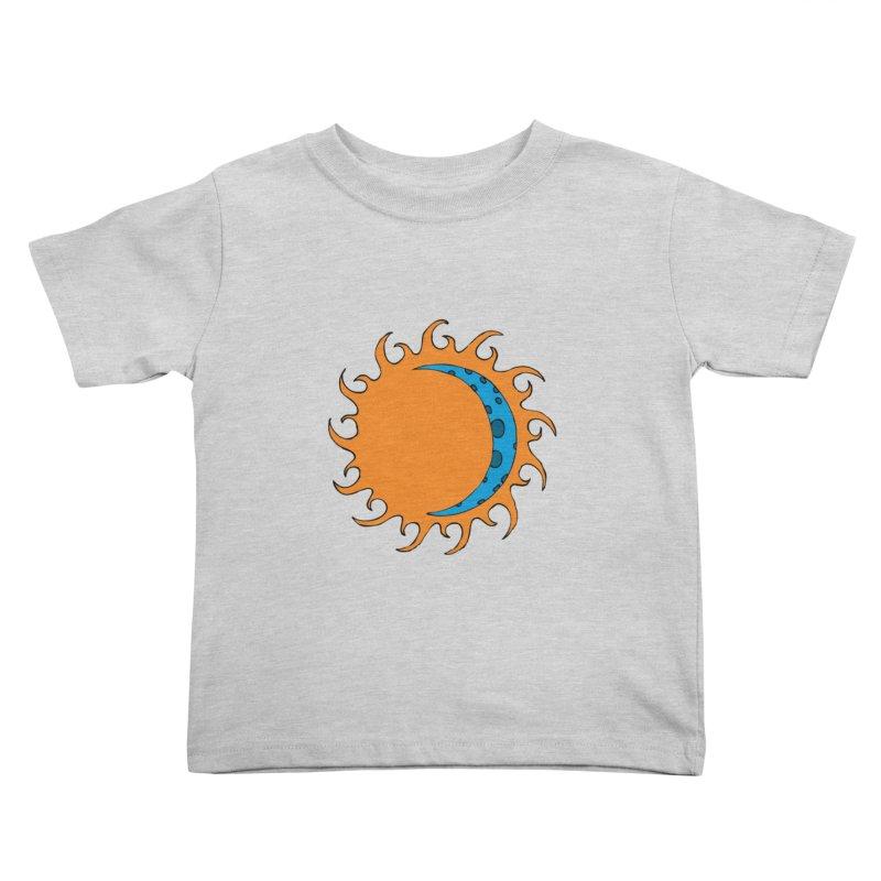Sun & Moon Kids Toddler T-Shirt by JiggyTheGeek's Artist Shop