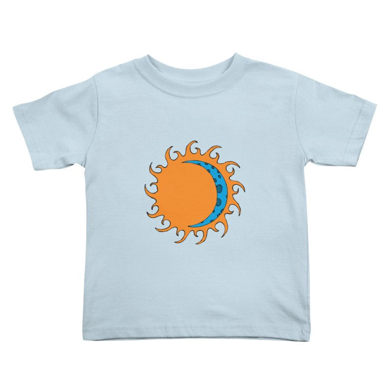 Sun & Moon Kids Toddler T-Shirt by JiggyTheGeek's Artist Shop