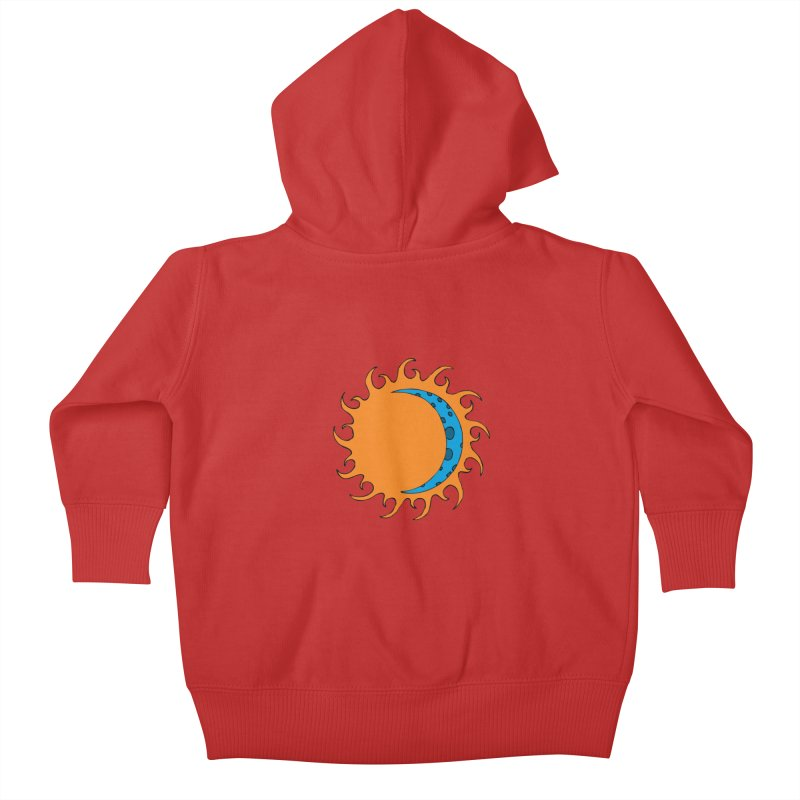 Sun & Moon Kids Baby Zip-Up Hoody by JiggyTheGeek's Artist Shop