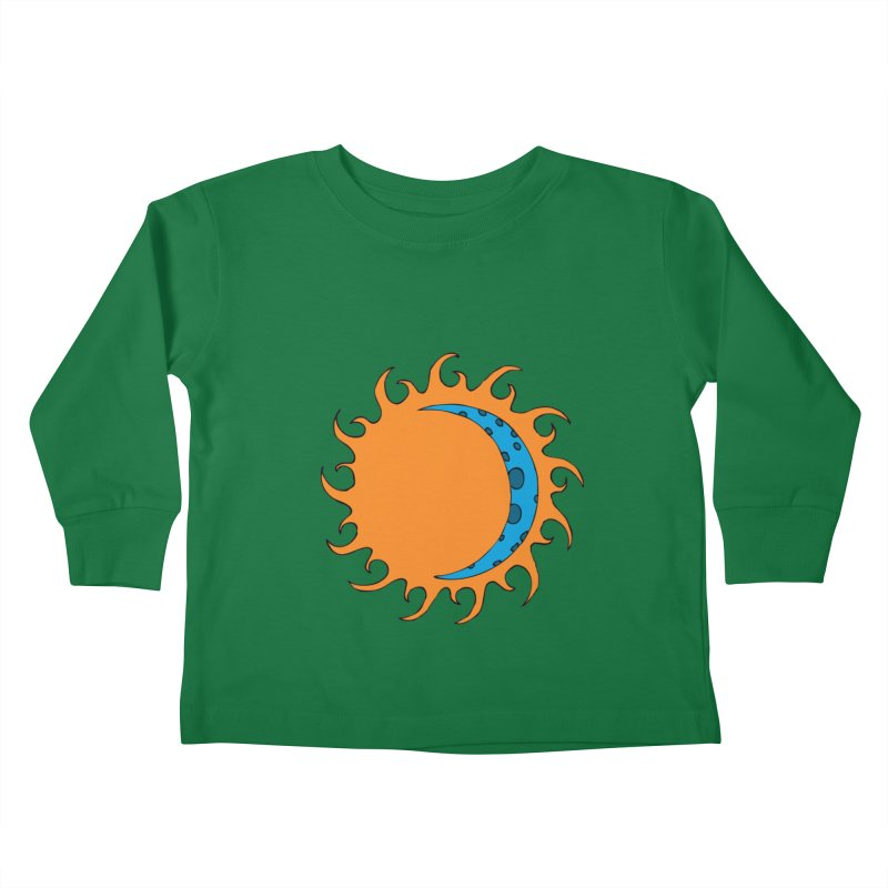 Sun & Moon Kids Toddler Longsleeve T-Shirt by JiggyTheGeek's Artist Shop