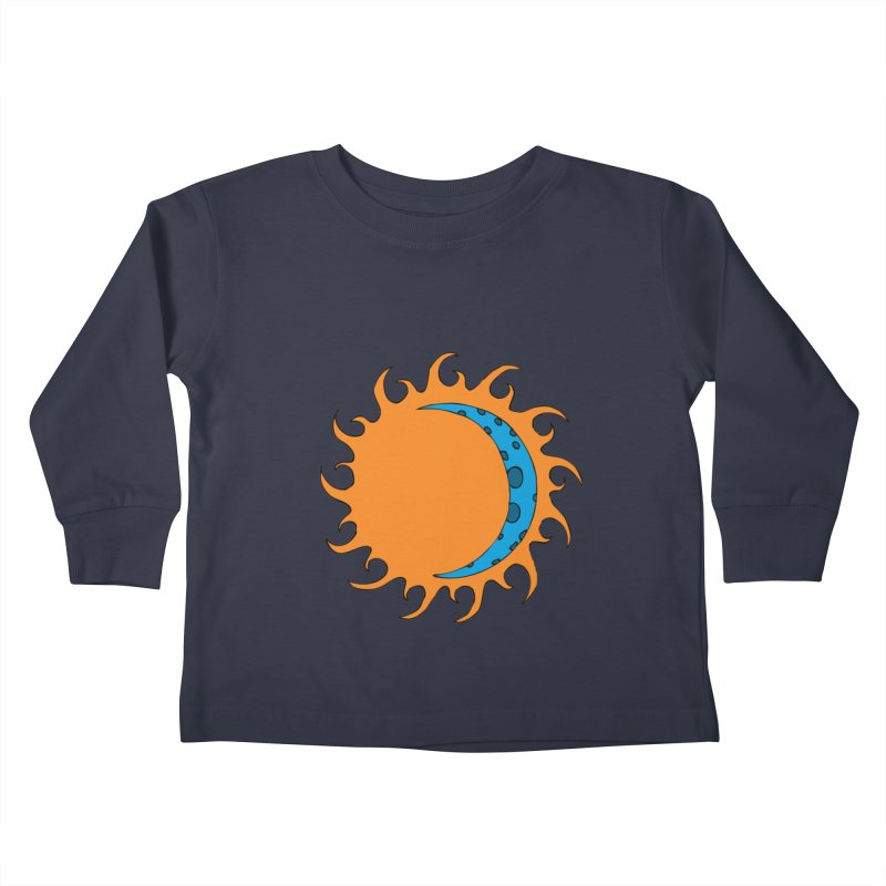 Sun & Moon Kids Toddler Longsleeve T-Shirt by JiggyTheGeek's Artist Shop
