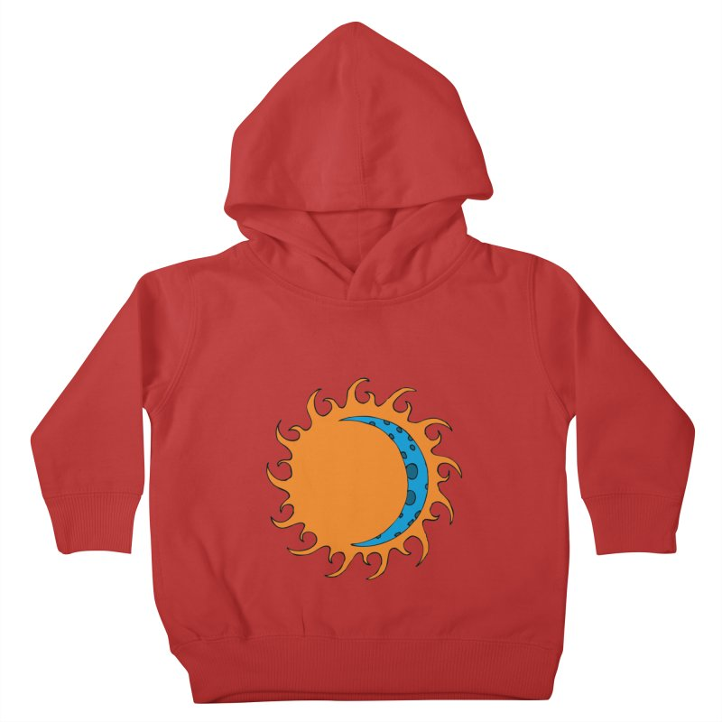 Sun & Moon Kids Toddler Pullover Hoody by JiggyTheGeek's Artist Shop
