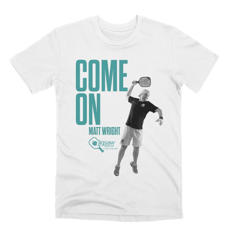COME ON - Matt Wright Men's T-Shirt by Jigsaw Swag designed by Jigsaw Health