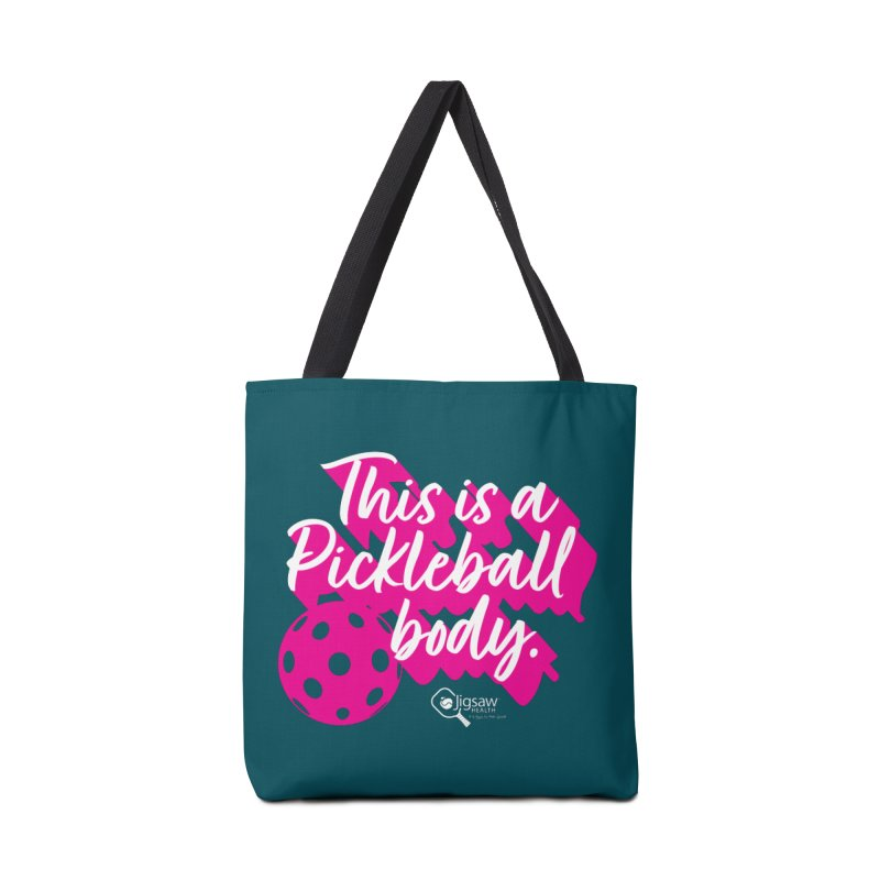 This is a Pickleball body Accessories Bag by Jigsaw Swag designed by Jigsaw Health