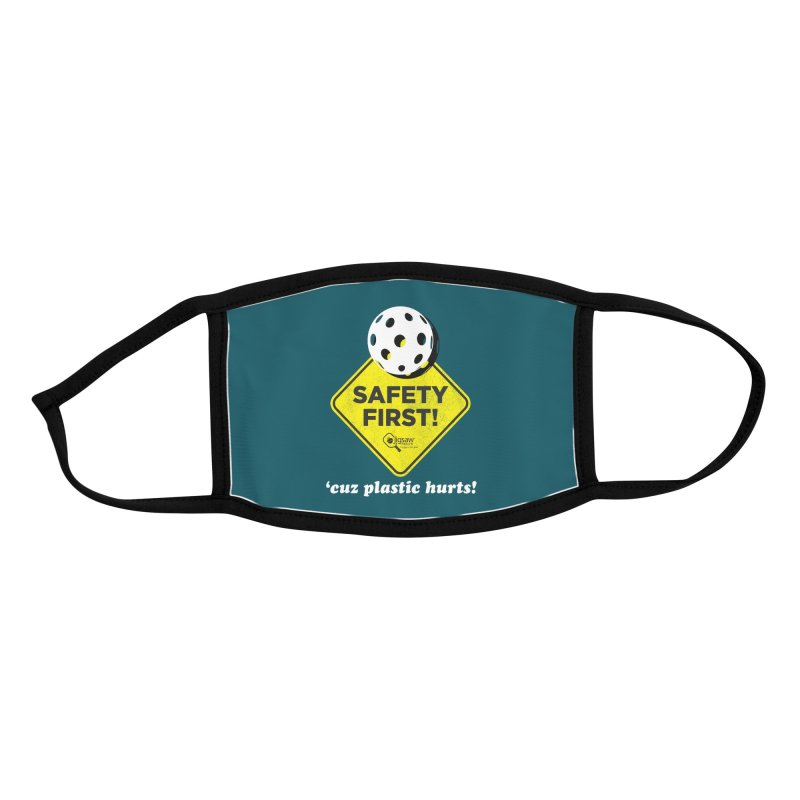 Safety First! Accessories Face Mask by Jigsaw Swag designed by Jigsaw Health