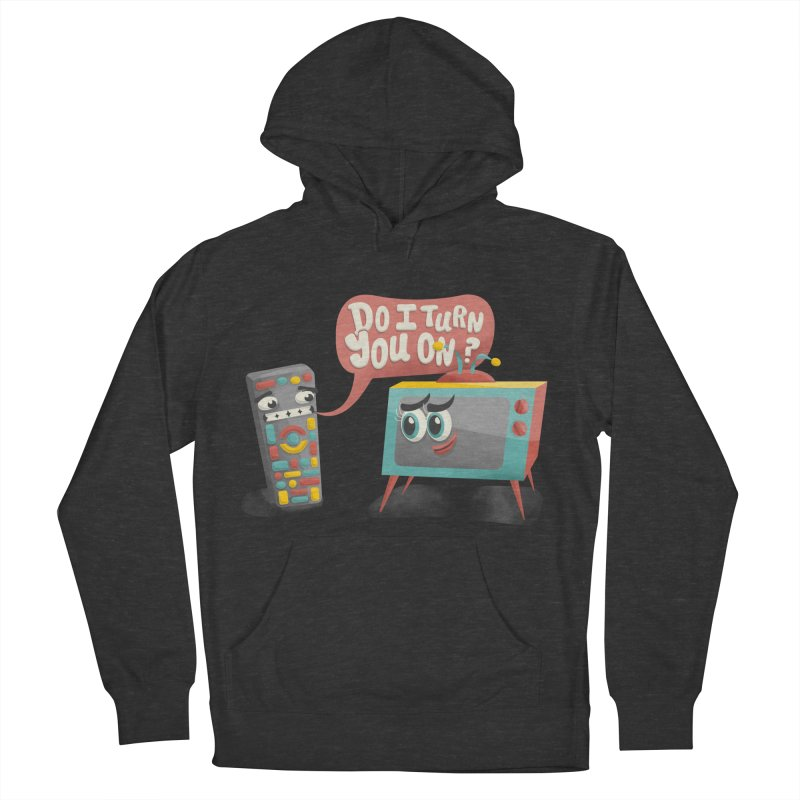 Do I Turn You On? Men's Pullover Hoody by JILL MARS
